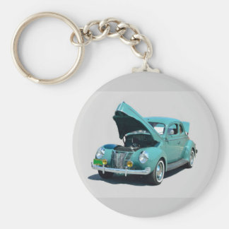 1940's  Vintage Car Key Ring