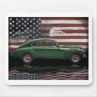 1941 Buick Century Patriot Mouse Pad