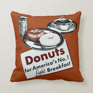 1941 Donut Poster Cushion