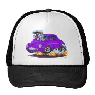 1941 Willys Purple Car Cap