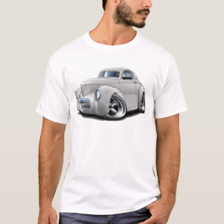 1941 Willys White Car T-Shirt