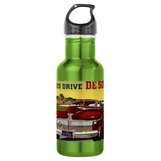 1942 DeSoto Chrysler Classic Car 532 Ml Water Bottle