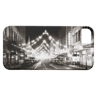 1942 Honolulu's Fort Street at Night iPhone 5 Cover