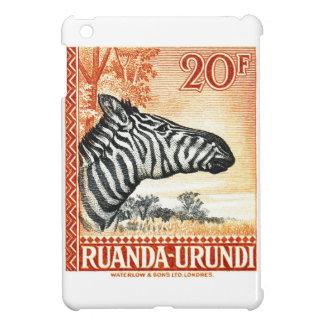1942 Ruanda Urundi Zebra Postage Stamp iPad Mini Cases