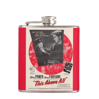 1942 This Above All movie poster Hip Flask