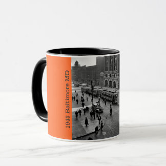 1943 - Downtown Baltimore MD Mug