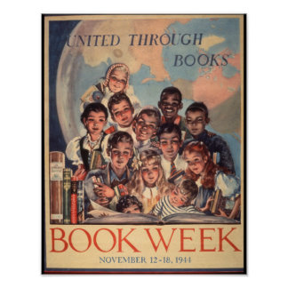 1944 Children's Book Week Poster