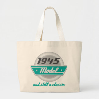 1945 Model and Still a Classic Jumbo Tote Bag