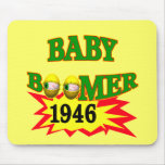 1946 Baby Boomer T-shirts Gifts Mouse Mats