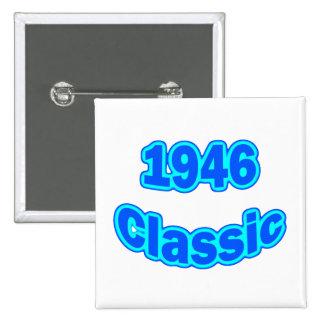 1946 Classic Blue 15 Cm Square Badge
