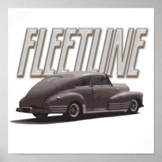 1947 Chevy Fleetline Poster