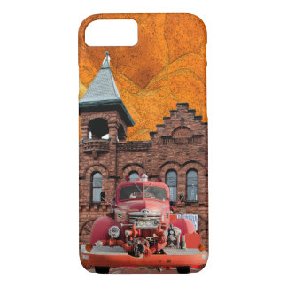 1947 International Fire Truck Design iPhone 8/7 Case