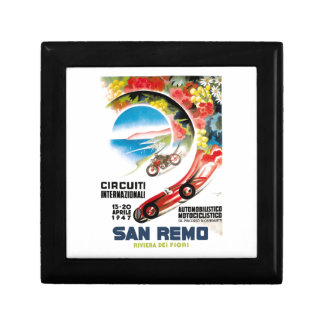 1947 San Remo Grand Prix Race Poster Gift Box