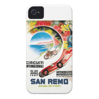 1947 San Remo Grand Prix Race Poster iPhone 4 Case