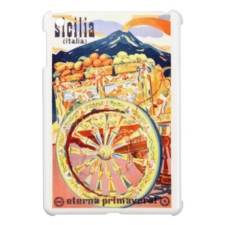 1947 Sicily Italy Travel Poster Eternal Spring iPad Mini Cases