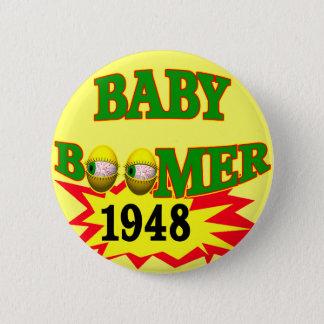 1948 Baby Boomer 6 Cm Round Badge