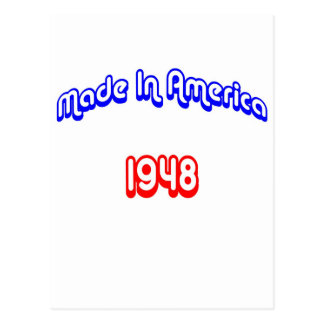 1948 Made In America Postcard