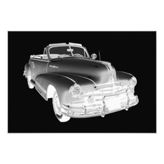 1948 Pontiac Silver Streak Car Art Art Photo