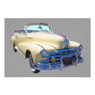 1948 Pontiac Silver Streak Convertible Car Photo Art