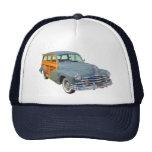 1948 Pontiac Silver Streak Woody Antique Car Mesh Hat