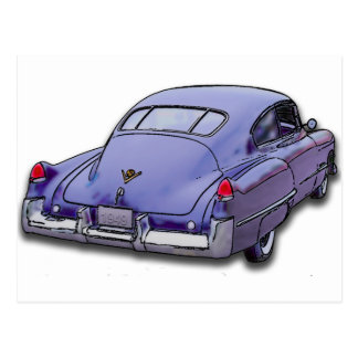 1949 Cadillac Sedanette Postcard