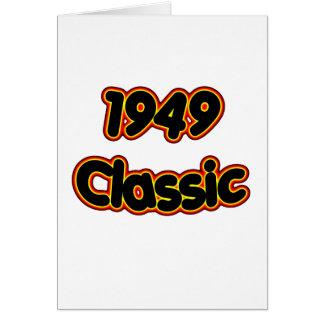 1949 Classic Card