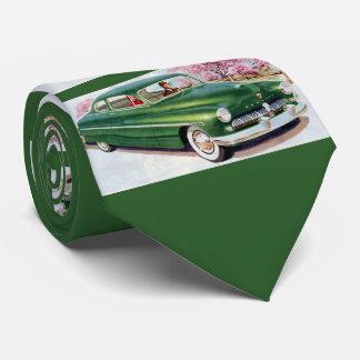 1949 green Mercury sedan Tie