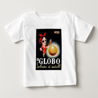 1949 Il Globo Italian Advertising Poster Baby T-Shirt