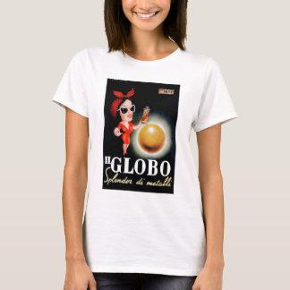 1949 Il Globo Italian Advertising Poster T-Shirt