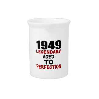 1949 LEGENDARY AGED TO PERFECTION BEVERAGE PITCHER