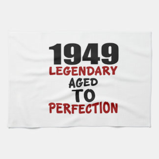 1949 LEGENDARY AGED TO PERFECTION HAND TOWELS