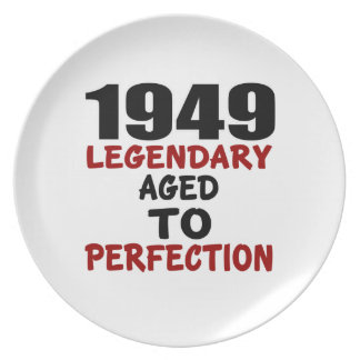1949 LEGENDARY AGED TO PERFECTION PLATES