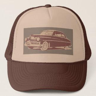 1949 Mercury retro style art on trucker cap