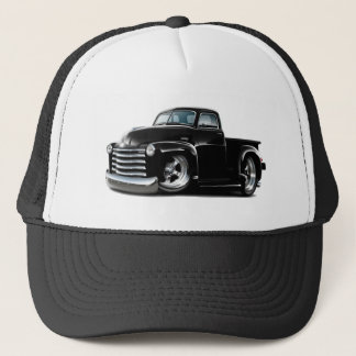 1950-52 Chevy Black Truck Trucker Hat