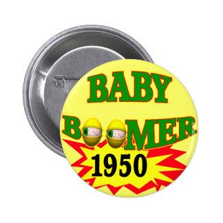 1950 Baby Boomer Pin