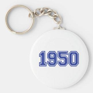 1950 Birthday Key Chain