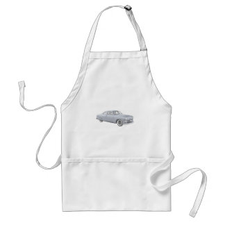 1950 Blue Ford Coupe Apron