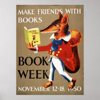 1950 Children's Book Week Poster