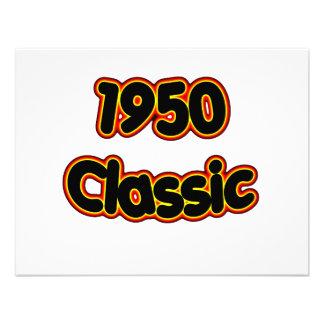 1950 Classic Invitation