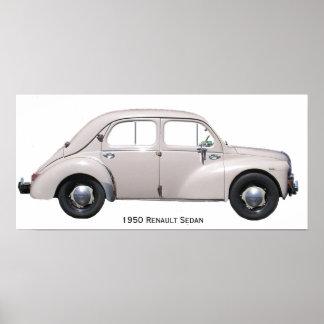 1950 Renault Sedan [PTR003] Poster
