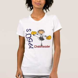 1950's Cheerleader Stick Figure T-Shirt
