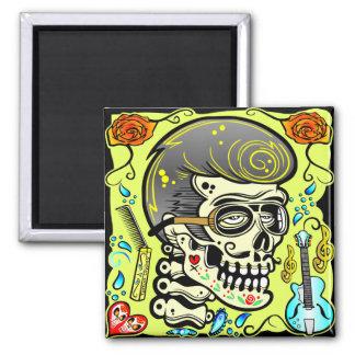 1950's Zombie Rocker Magnet