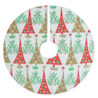 1950s Cartoon Christmas Tree Skirt
