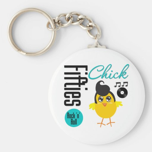 1950s Chick Keychains