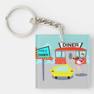 1950's Diner Keychain