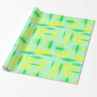 1950's Lemon Lime Wrapping Paper