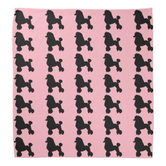 1950's Pink Poodle Skirt Bandana