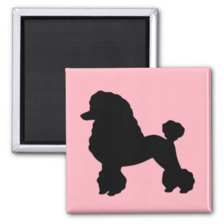 1950's Pink Poodle Skirt Inspired Magnet