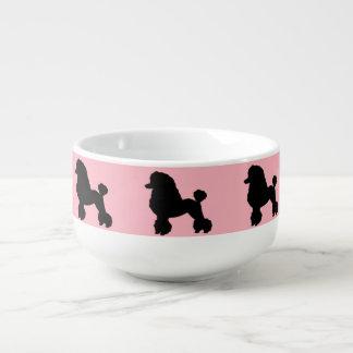 1950's Pink Poodle Skirt Inspired Soup Mug