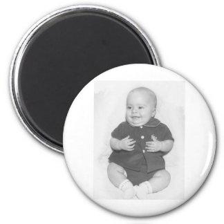 1950's Portrait of Baby Boy Magnet